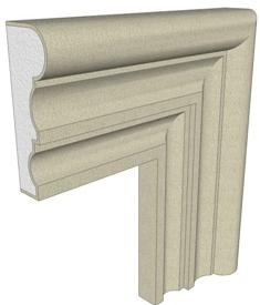 Produciamo cornici per finestre in polistirolo preintonacato per decoro facciate ai migliori prezzi - Cornici per finestre esterne prezzi ...